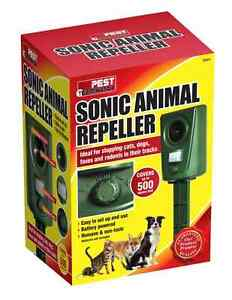 Sonic Cat Repeller Garden Animal Scarer Sonic Pest Deterrent Dog Fox