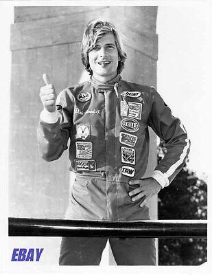 Dirk Benedict W Cigar Candid 1980 Vintage Photo