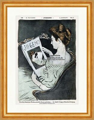 Cover The Number 47 From 1896 Paul Bright Woman Magazine Read Youth