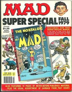 MAD SUPER SPECIAL #28 FN 6.0 INCLUDES NOSTALGIC MAD #7