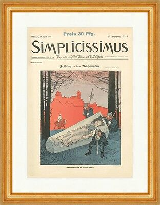 Cover The Number 3 From 1910 Wilhelm Schulz Spring Simplicissimus 0746