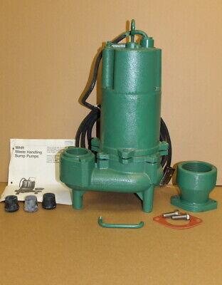 Sewage Pump Submersible 3 Phase 2 200v 34hp Whr7-03 Myers Unused