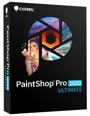 Corel PaintShop PRO 2020 *ULTIMATE* -DEUTSCH- #BOX
