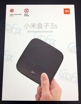 Mi Lord Coofix Xiaomi Box 3S Mi TV BOX 4K 超清 2017 8GB Media越狱版1万部欧美大陆港澳台电影电视剧