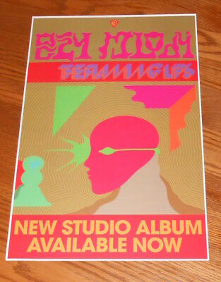 The Flaming Lips Oczy Mlody Poster Promo Original 11x17