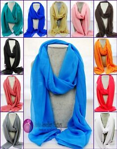 1pcs-Lady-Bohemia-Pure-Color-Imitation-Silk-Stole-Scarves-Wrap-Hijab-Shawl-Scarf