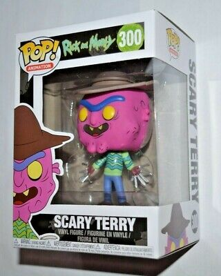 Funko Pop! Animation Rick and Morty / Scary Terry Nr.300 Vinyl Figur ca.10