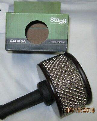 cabasa large stagg professional cabasa pro large black handle  for sale  Peoria