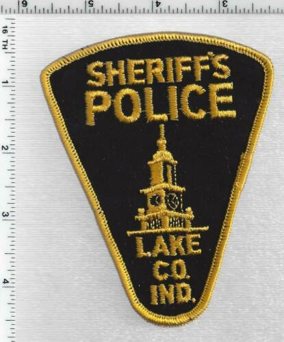 Lake County Sheriff Dept Police (Indiana) 1st Issue Shoulder Patch