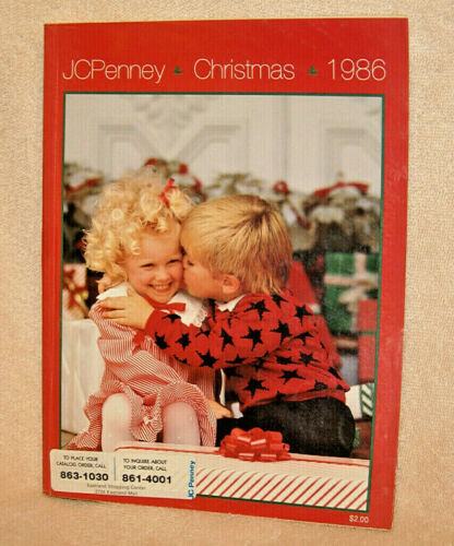 1986 JC PENNEY Christmas catalog - Excellent condition