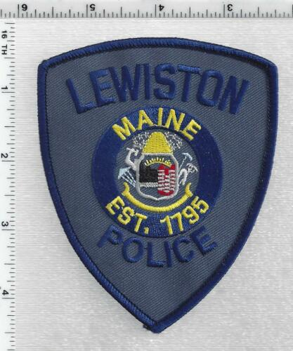 Lewiston Police (Maine) 3rd Issue Shoulder Patch