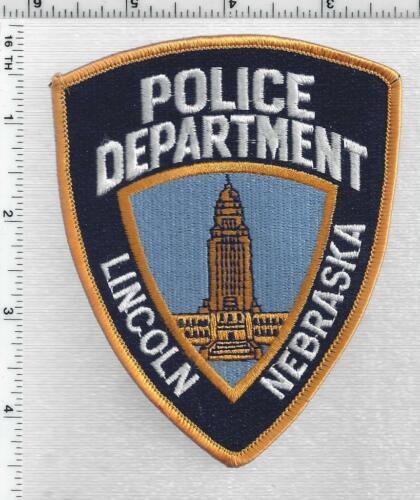Lincoln Police (Nebraska) 4th Issue Shoulder Patch