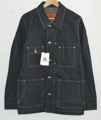 PAUL SMITH RED EAR indigo denim work coat jacket MADE IN JAPAN LARGE