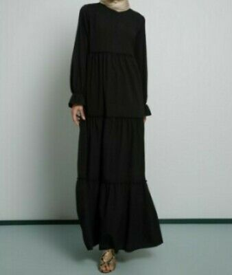 Abaya Dress Black Size 44(EU) /12(US)/16(UK)
