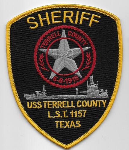 Terrell County Sheriff State Texas TX NEAT