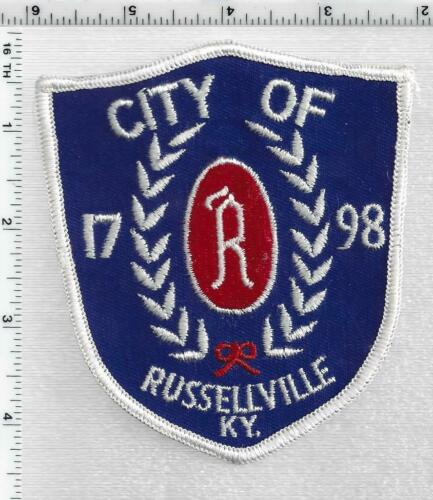 Russellville Police (Kentucky) 1st Issue Shoulder Patch