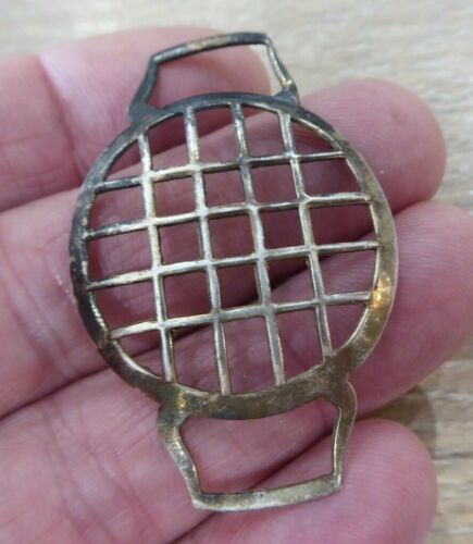ORIGINAL WW1 TRENCH WRISTWATCH SHRAPNEL GUARD