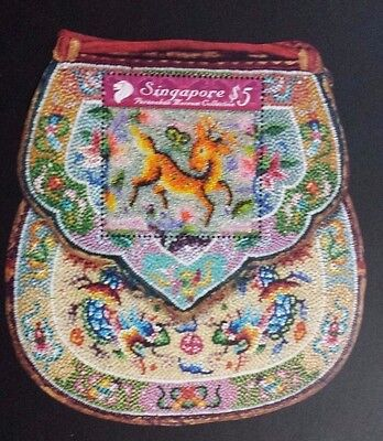 Singapore 2008 Peranakan Museum Collection, Collector sheets