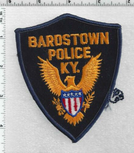 Bardstown Police (Kentucky) 1st Issue Shoulder Patch