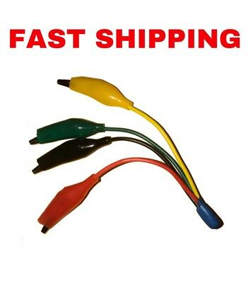 Thermostat Jumping Wires - Hvac Tool - T-stat Jumper Wire - Alligator Clips Clip