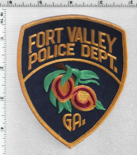 Fort Valley Police (Georgia) 1st Issue Shoulder Patch