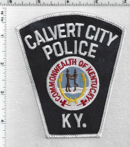 Calvert City Police (Kentucky) 1st Issue Shoulder Patch