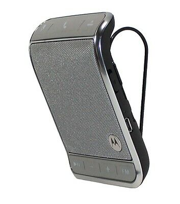 Motorola Roadster 2 TZ710 Bluetooth Wireless Car Speakerphone w/ FM Transmitter