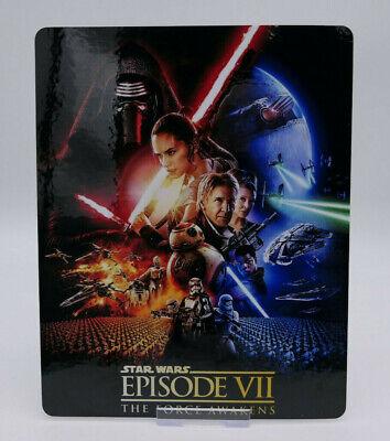 STAR WARS 7 Force Awakens Glossy Bluray Steelbook Magnet Cover (NOT LENTICULAR)