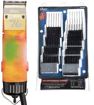 Oster Classic 76 VibrantColors限定版プロフェッショナルクリッパー+コームセット