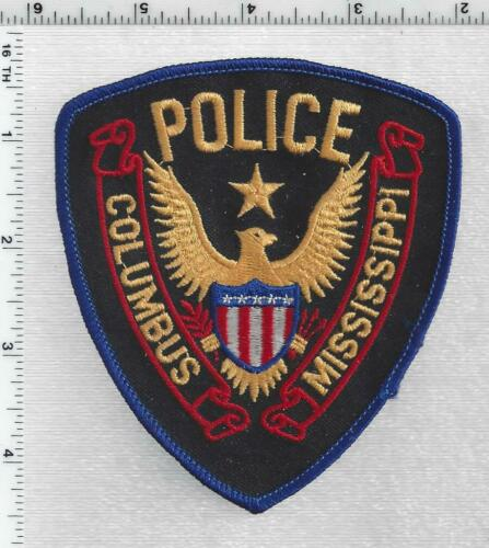 Columbus Police (Mississippi) 1st Issue Shoulder Patch