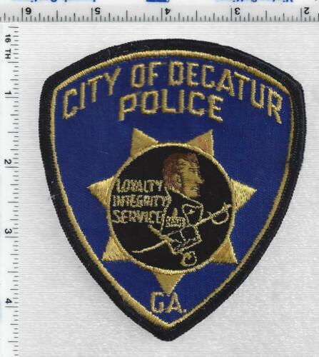 City of Decatur Police (Georgia) 1st Issue Shoulder Patch