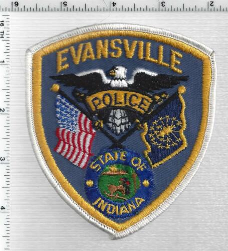 Evansville Police (Indiana) 4th Issue Shoulder Patch