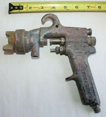 Binks- Model 7 Pressure Paint Spray Gun For Parts