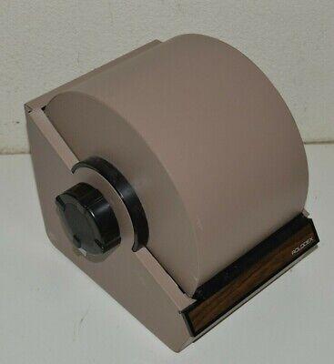 Large Rolodex Rotary File Industrial Mid Century Phone Address Box W Keys Rare