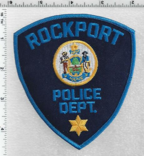 Rockport Police (Maine) 3rd Issue Shoulder Patch