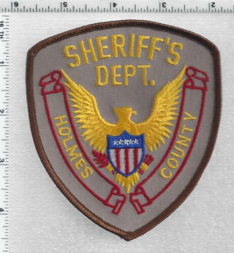 Holmes County Sheriff (Mississippi) 2nd Issue Shoulder Patch