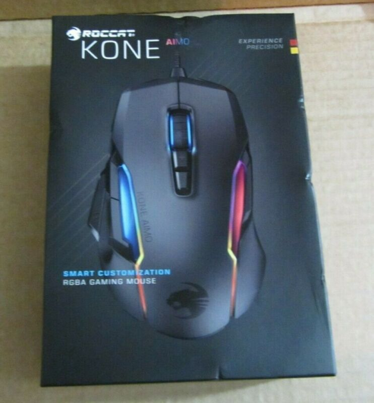 Roccat KONE AIMO PC Gaming Mouse RGBA Smart Customization - NEW