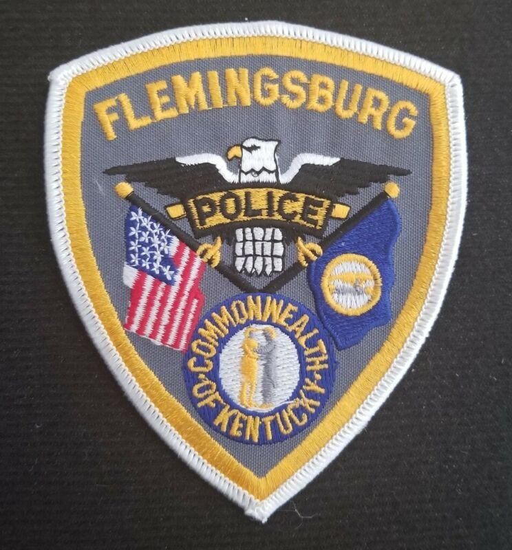 Flemingsburg Kentucky Police Patch KY