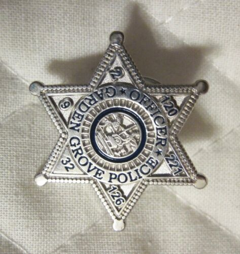 Garden Grove Police Officer Lapel or Hat Pin - 1""
