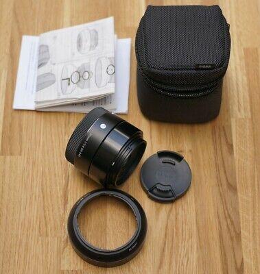 Sigma DN Art 30mm f2.8 lens Sony E mount / MINT