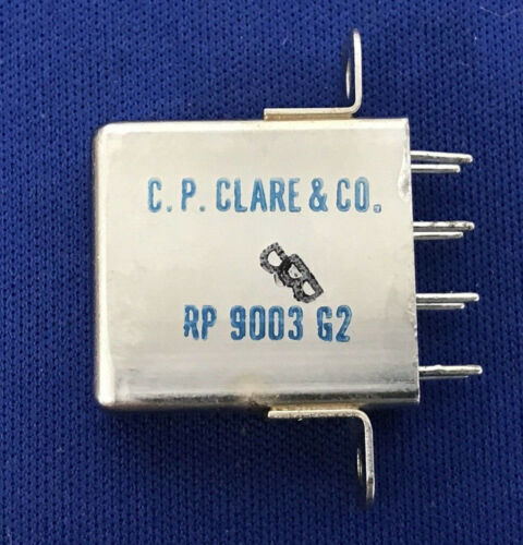 C.P.CLARE & CO.  RP9003G2 ARMATURE RELAY 8 PIN
