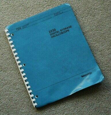 Tektronix 2230 Original User Manual Paper Manual Part 070-4998-00