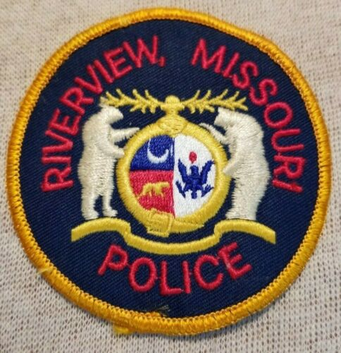 MO Riverview Missouri Police Patch (3In)