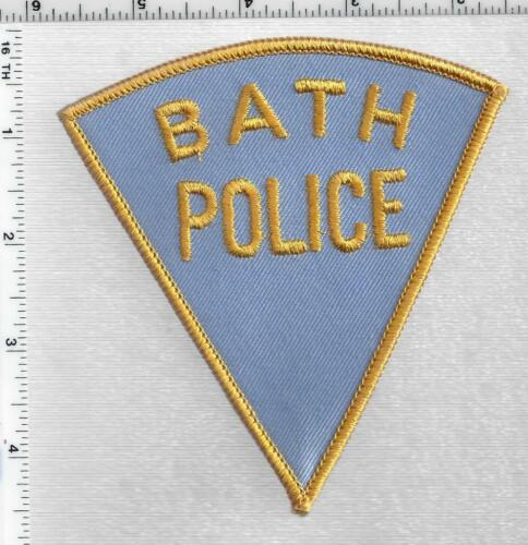 Bath Police (Maine) 1st Issue Shoulder Patch