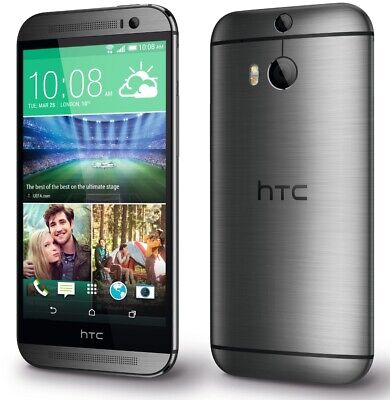 HTC One M8 - 32GB - Gunmetal Gray (AT&T) | Grade-B