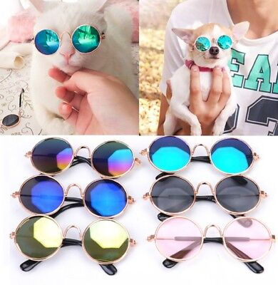 Small Cat Dog Sunglasses Glasses Costume Pet Toy Kitten Outfit Clothes Funny UK - Funny Dog Costumes Uk