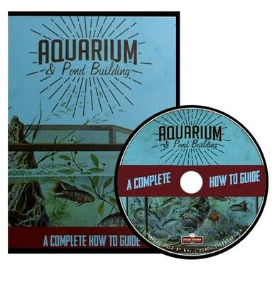 Aquarium and Pond Building { 24 Vintage How To Books } ~ DVD Gift Set