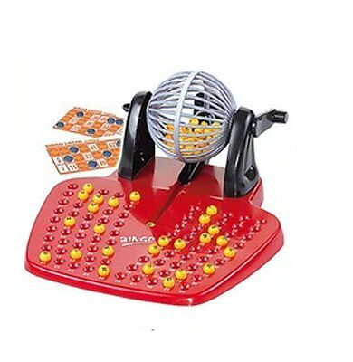 Bingo Lotto Traditional Family Game Set 90 Balls& Bingo Cards by A to Z - 8186 for sale  West Bromwich