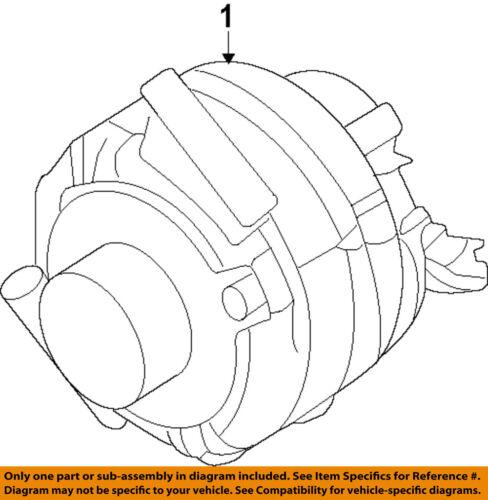 Ford Oem Alternator G2gz10346b