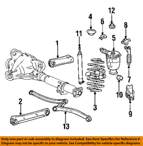 98 mercury grand marquis engine diagram ford oem 98 02 crown victoria rear suspension shock xw7z18125bb ebay  ford oem 98 02 crown victoria rear